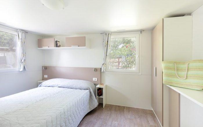 Slaapkamer met Adria Comfort