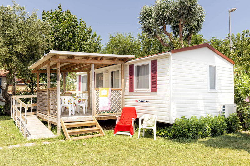 Mobile home adria comfort riva nuova camping village for Comfort house